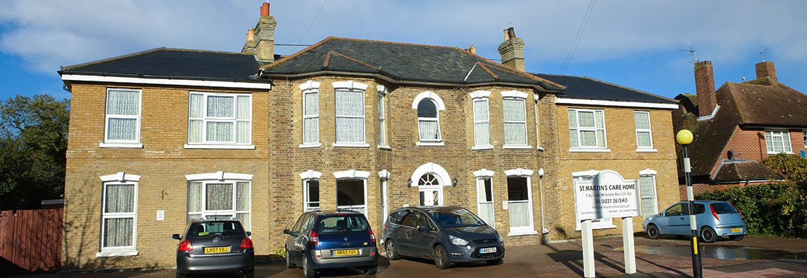 St Martins Care Home Whitstable